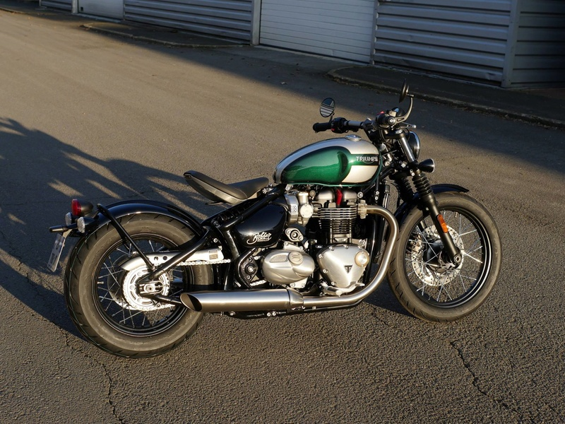 Triumph Bonneville Bobber 1200 Bobber10
