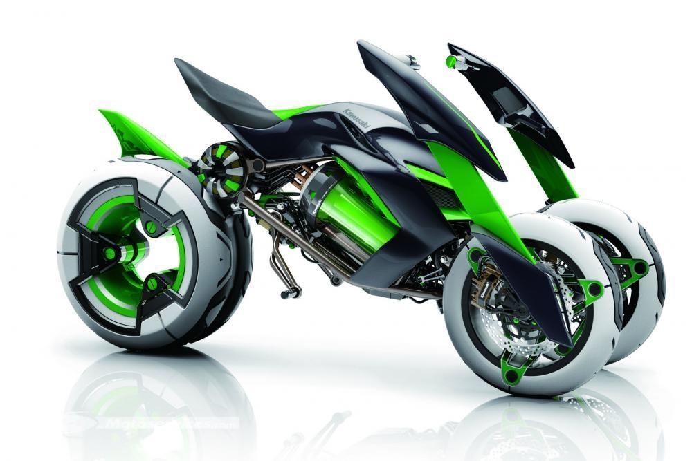 Kawasaki continue d'avancer sur le trois roues Conce_10