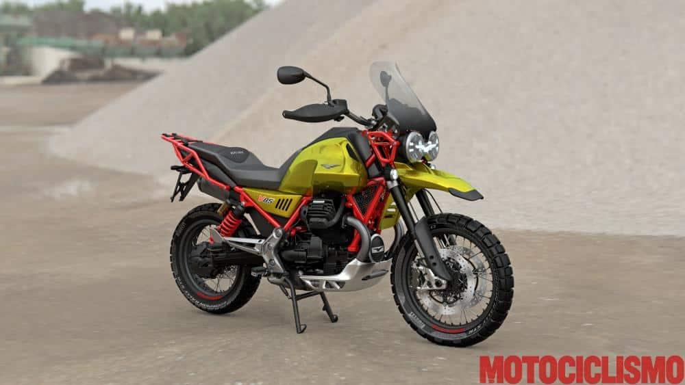 Le retour du trail chez Moto Guzzi : V 85 TT Moto-g11