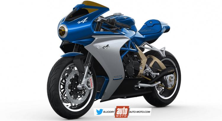 Alpine prépare une moto en collaboration avec MV Agusta Mv-agu10