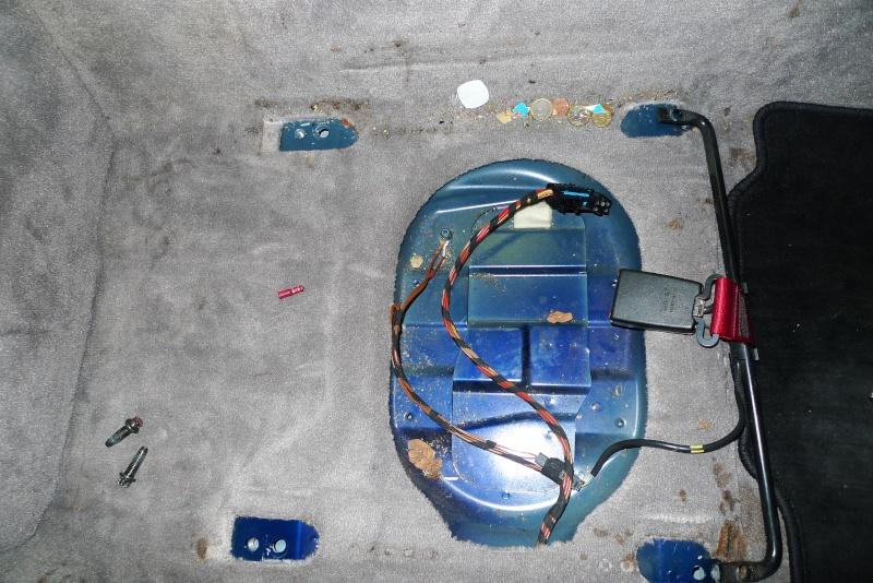 Démontage Sièges Boxster 986 S et Nettoyage Intérieur P1070812