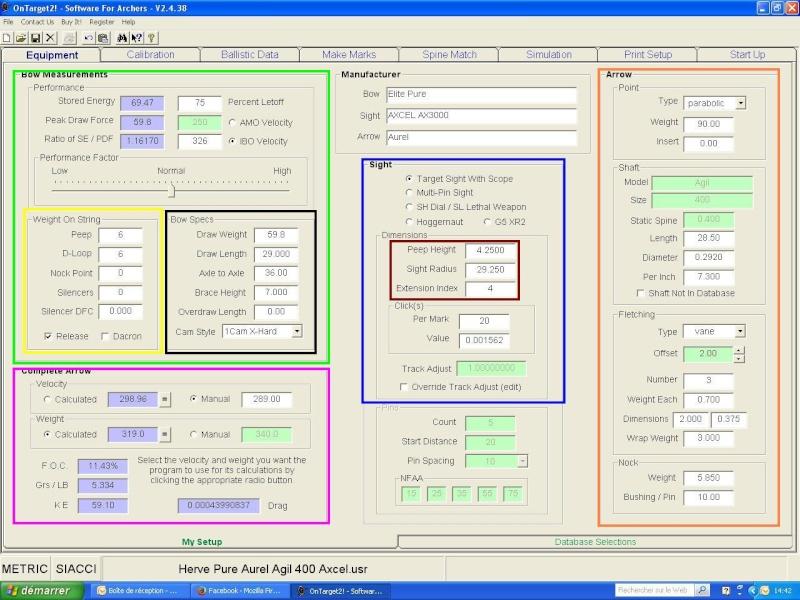 """OT2 """"pour les nuls"""", tutoriel du logiciel On Target 2 (SFA) Ot2_eq11"""
