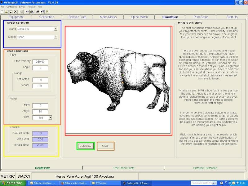 """OT2 """"pour les nuls"""", tutoriel du logiciel On Target 2 (SFA) Simula11"""