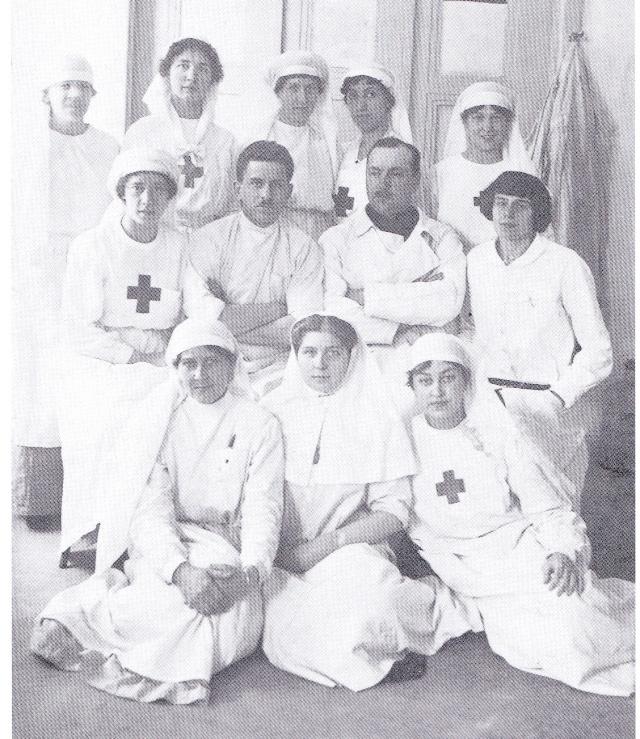 Les femmes Russes dans la grande Guerre Infirm12