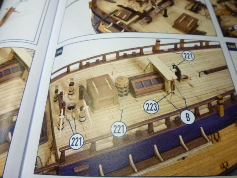 Baubericht  Endeavour von OcCre 1:54 - Seite 4 P1100832