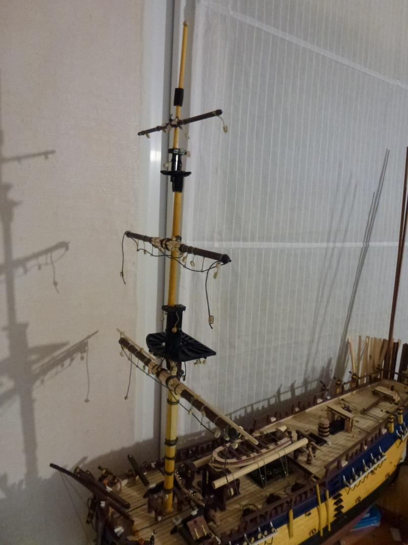 Baubericht  Endeavour von OcCre 1:54 - Seite 6 P1110023