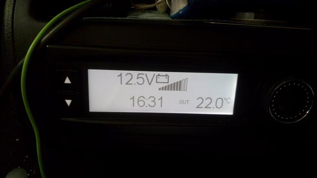 La batterie additionnelle ne se recharge pas en roulant. Img_2030