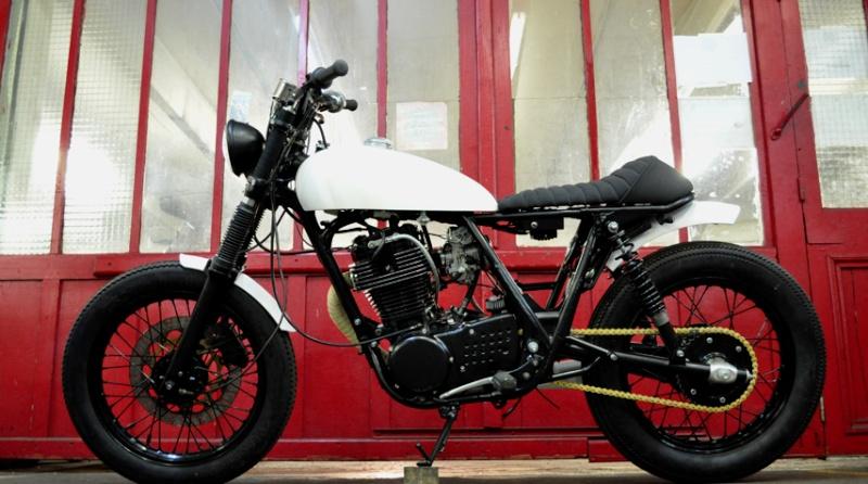 - Yamaha SR 125 - Blitz-10