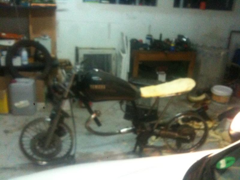 - Yamaha SR 125 - Img_0430