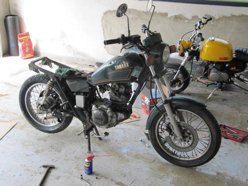 - Yamaha SR 125 - Img_3611