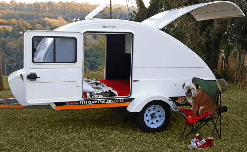 Jetstream teardrop trailers (Afrique du sud) Captai10