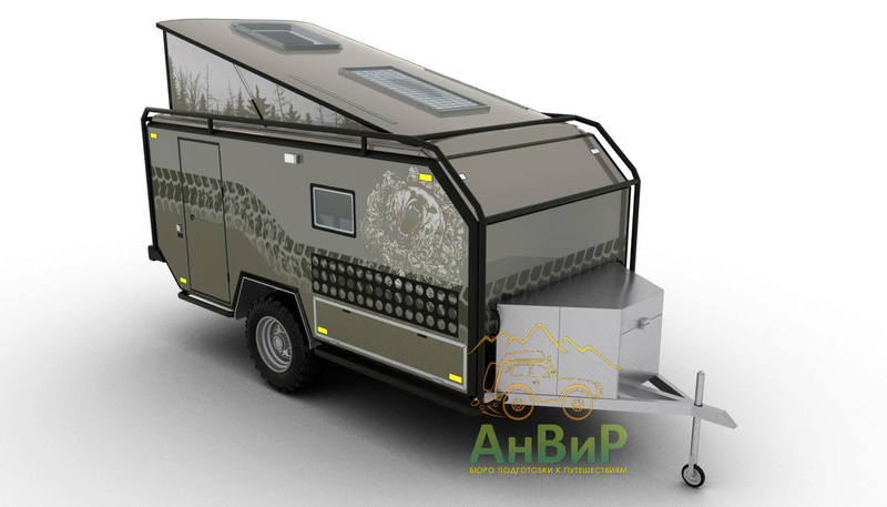 "Off road camper ""Cross Lander"" (Russie) Crossl10"