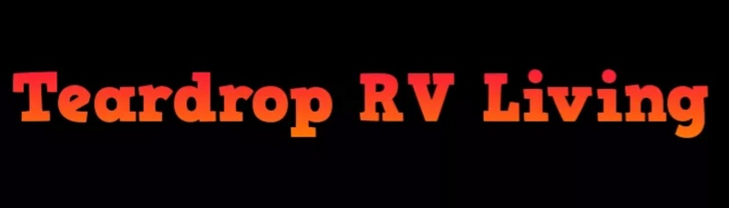 Trardrop RV livimg building mystère camper Screen11