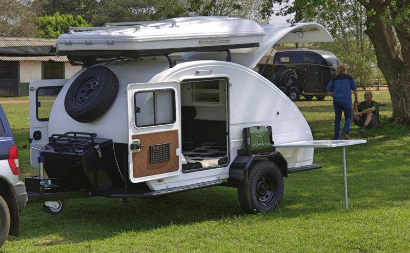 Jetstream teardrop trailers (Afrique du sud) Xt1210