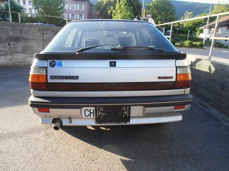 Renault 11 TXE Cheverny, Suisse Can01_12