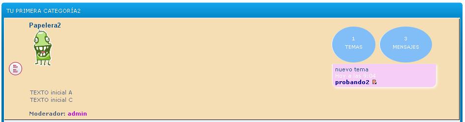 Destacar en las categorías los foros con nuevos mensajes sin leer Tuto_f11