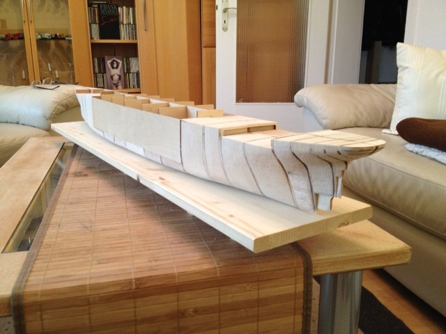 Amati/Hachette Titanic 1:250 von providereMS62 - Seite 4 Rumpf_13