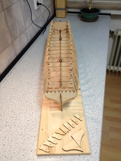 Provideres HMS Victory 1:84 von DeAgostini - Seite 2 Spante12