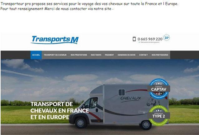 """Transport M"" Transp10"