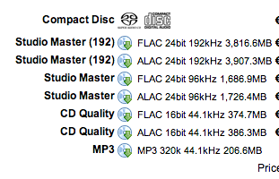 AIFF FLAC o APPLE LOSSLESS??? Scherm40