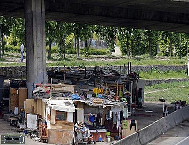 Les bidonvilles en France ça existe Mimoun10