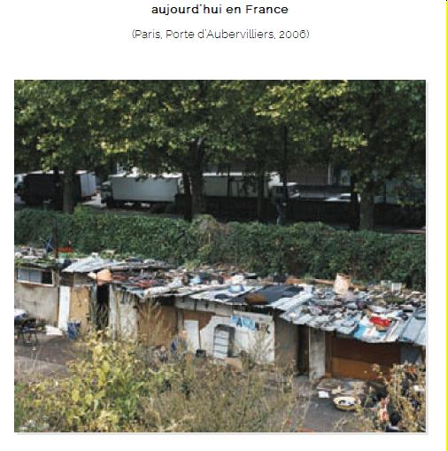 Les bidonvilles en France ça existe Mimoun11