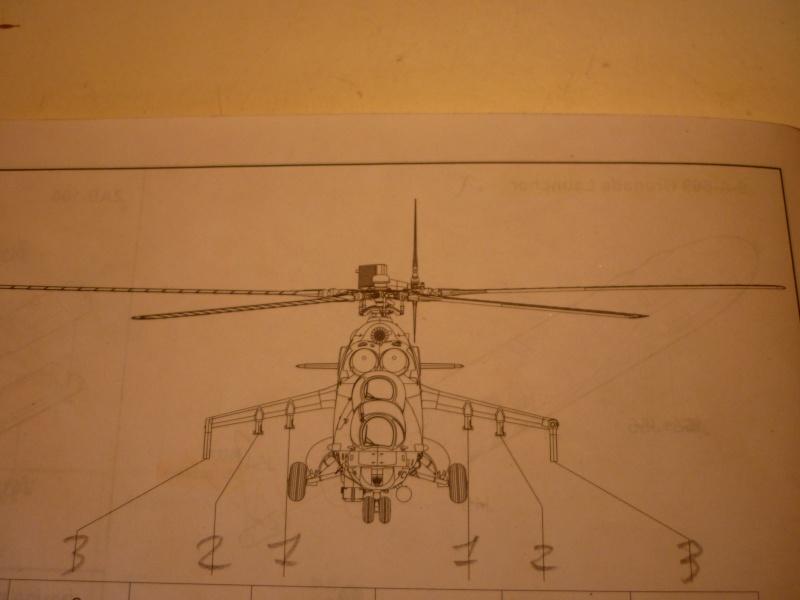 "MIL MI-24V ""HIND"" Trumpeter 1/35 Hind_019"