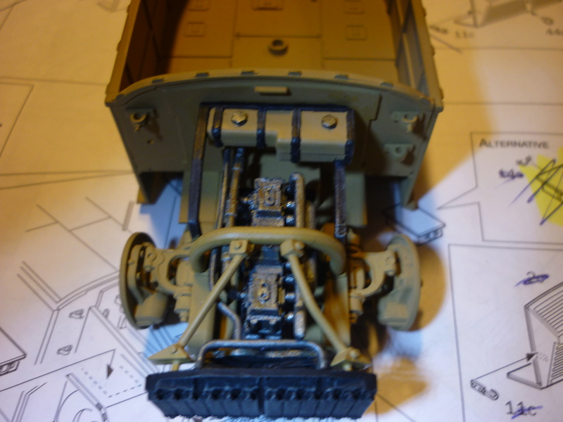 Tunisie 1943: Semovente M40 Tamiya + Camionetta AS 42 Sahariana Italeri + personnages et dromadaires Verlinden 1/35 - Page 3 P1080015