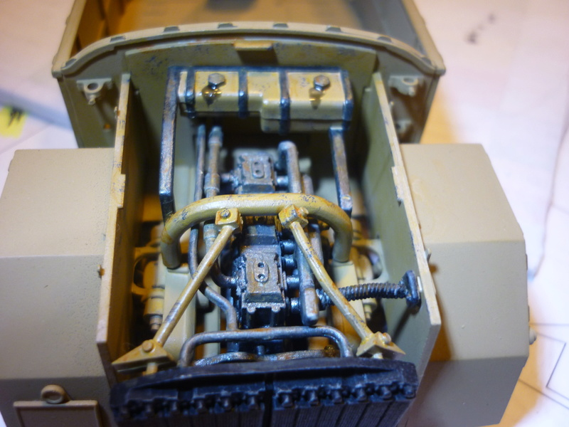 Tunisie 1943: Semovente M40 Tamiya + Camionetta AS 42 Sahariana Italeri + personnages et dromadaires Verlinden 1/35 - Page 3 P1080110