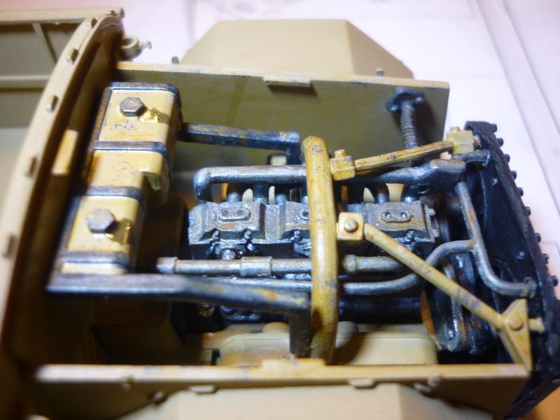 Tunisie 1943: Semovente M40 Tamiya + Camionetta AS 42 Sahariana Italeri + personnages et dromadaires Verlinden 1/35 - Page 3 P1080111