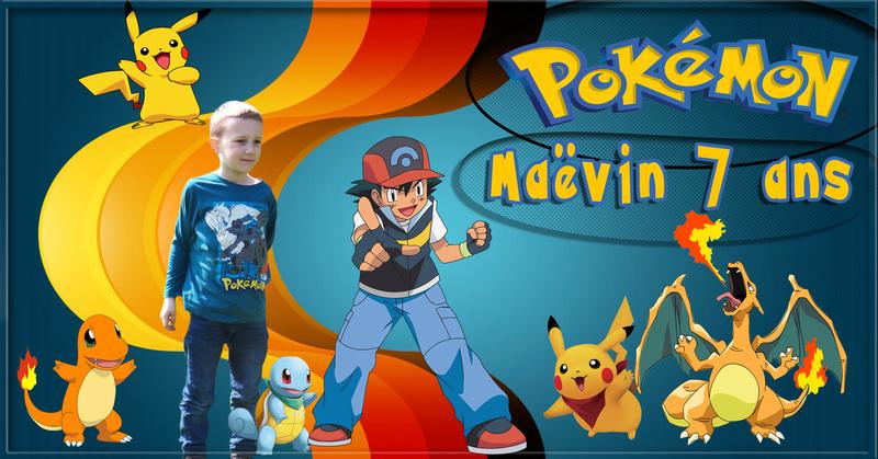 carte anniversaire Pokemon Pokemo10