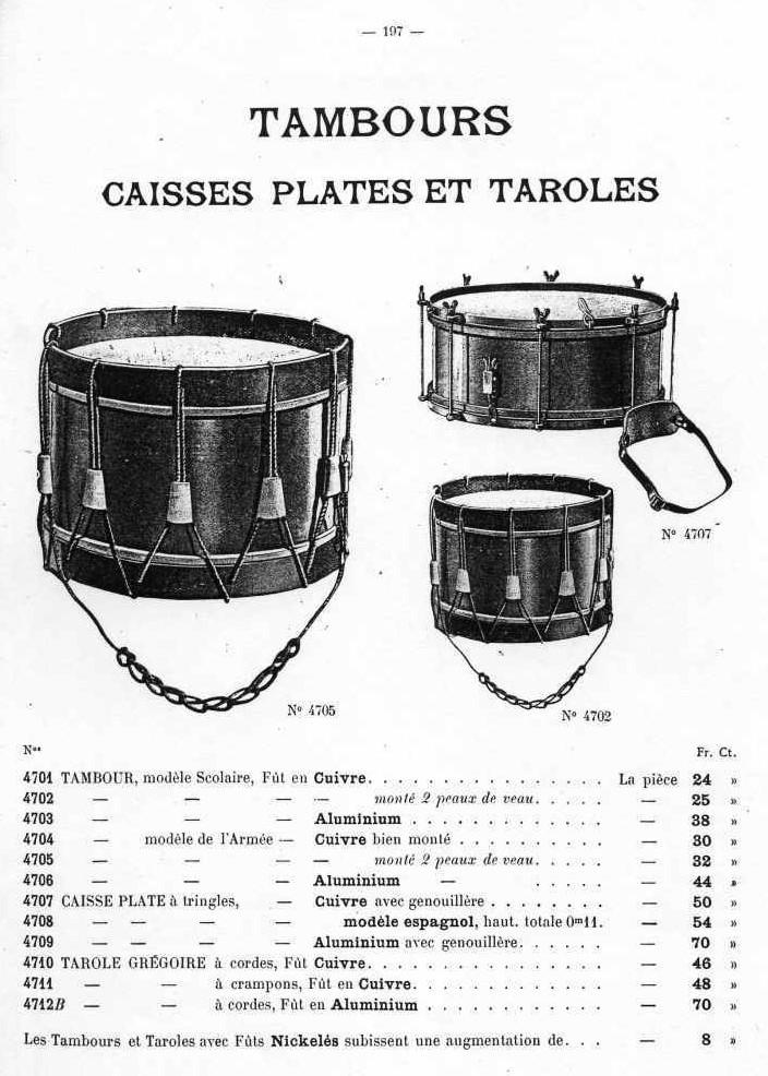 Les instruments de musique : caisses - tambours - clairons - trompettes  - Page 3 Ullman10