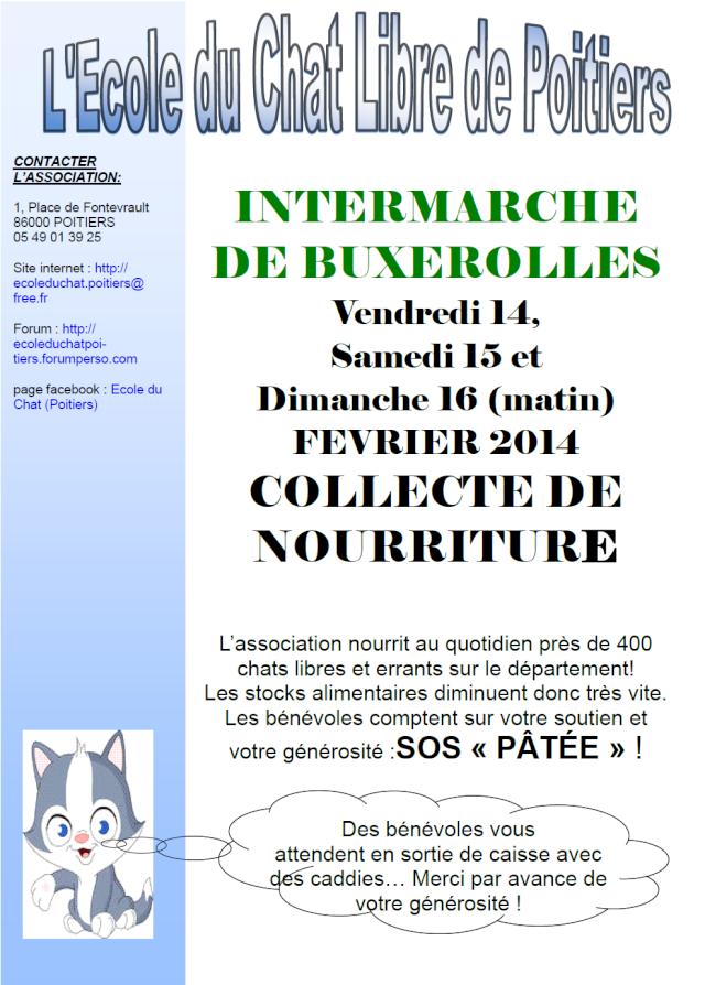 Collecte de Nourriture intermarché buxerolles 14/02/14 14_15_11