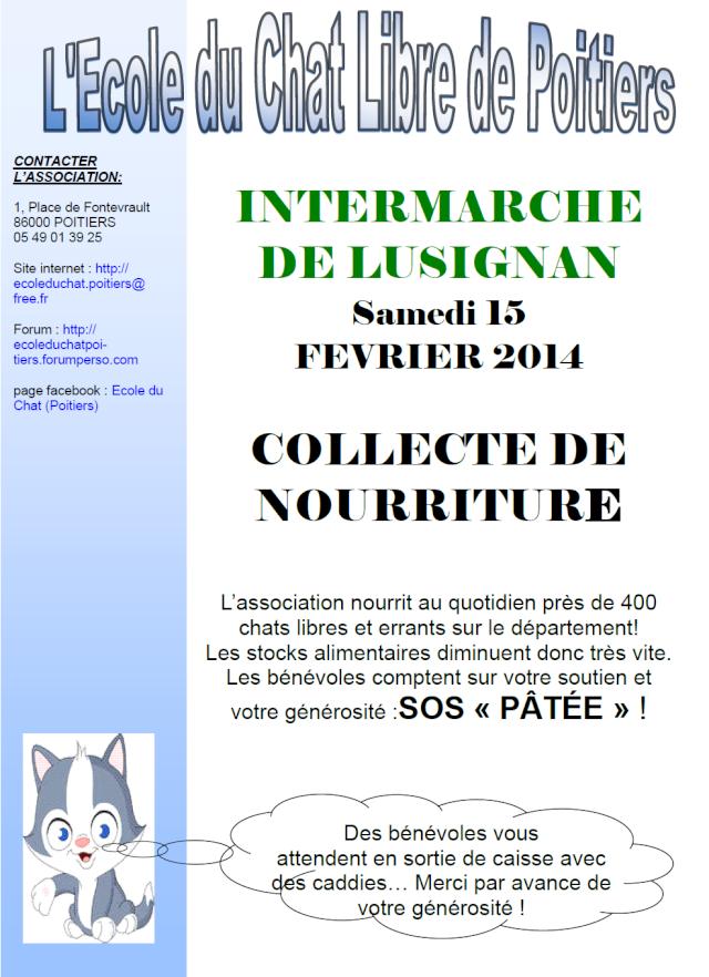 Collecte de Nourriture intermarché lusignan 15/02/14 15_02_10