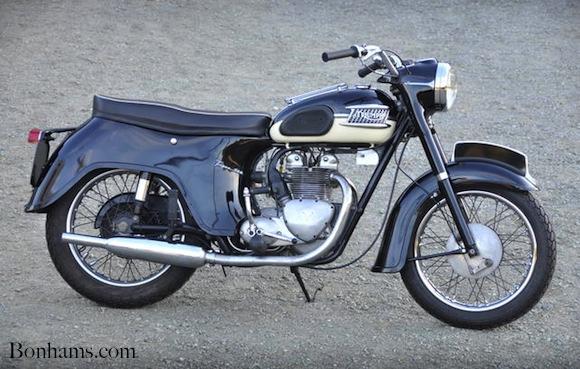 Triumph motorcycle 60triu10