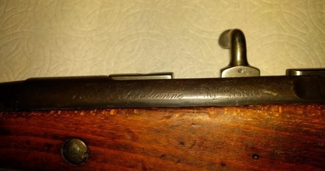 Carabine de cavalerie Berthier Mle 1890 modifiée 1915  1010