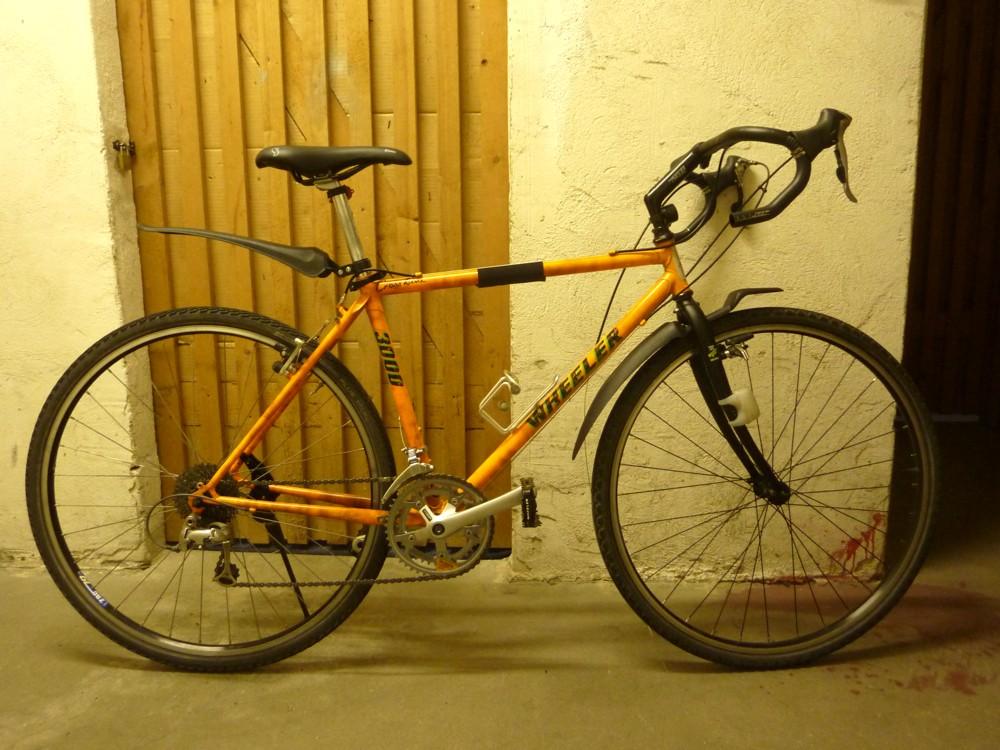 Transformation VTC en vélotaf /// Projet néo-rétro Wheele10