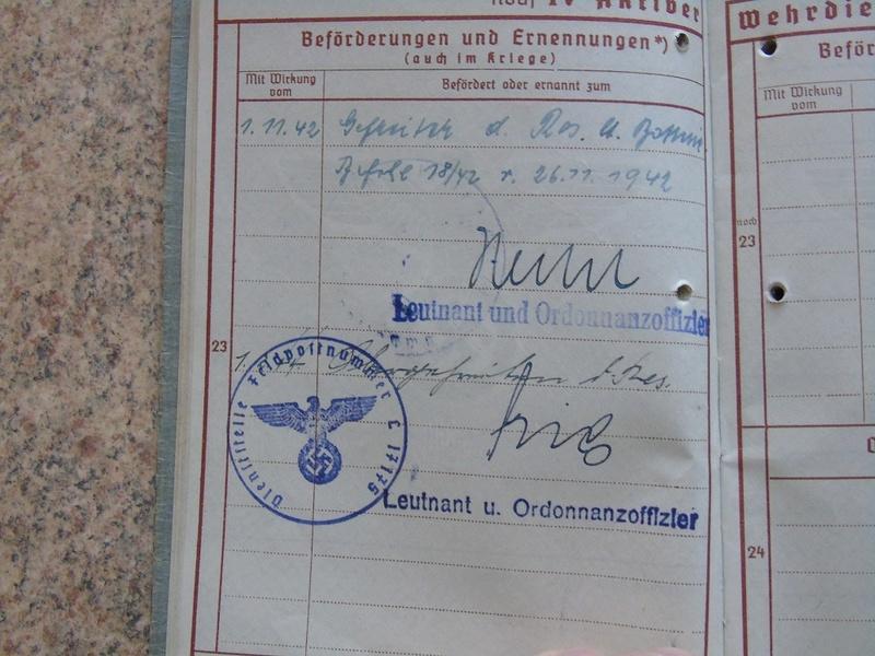 Traduction Wehrpass et Soldbuch Luftwaffe Dsc03219