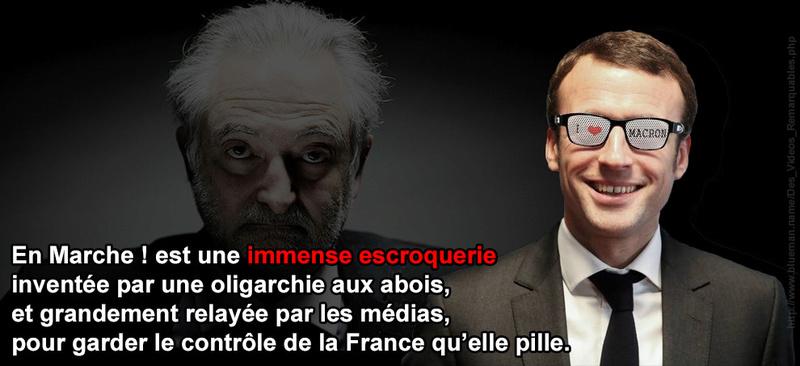 Topique - Entretien avec François Asselineau – Questions d'actualité  Macron10