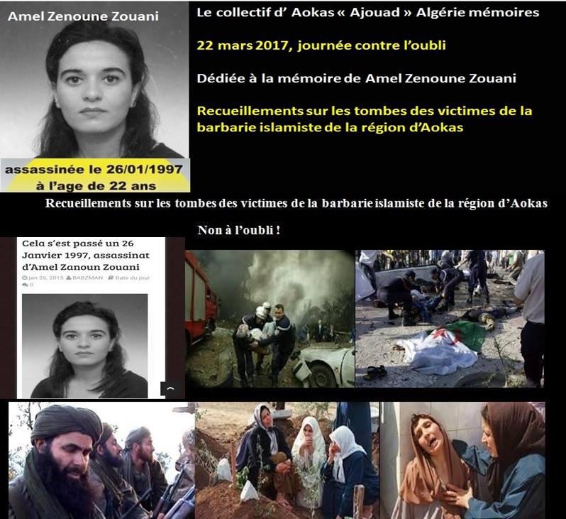 22 mars 2017, journée contre l'oubli à Aokas à la mémoire de Amel Zenoune Zouani 143
