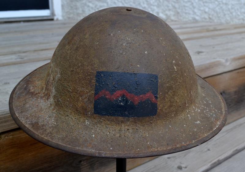 Canadian Corps Heavy Artillery Helmet Dsc_0011