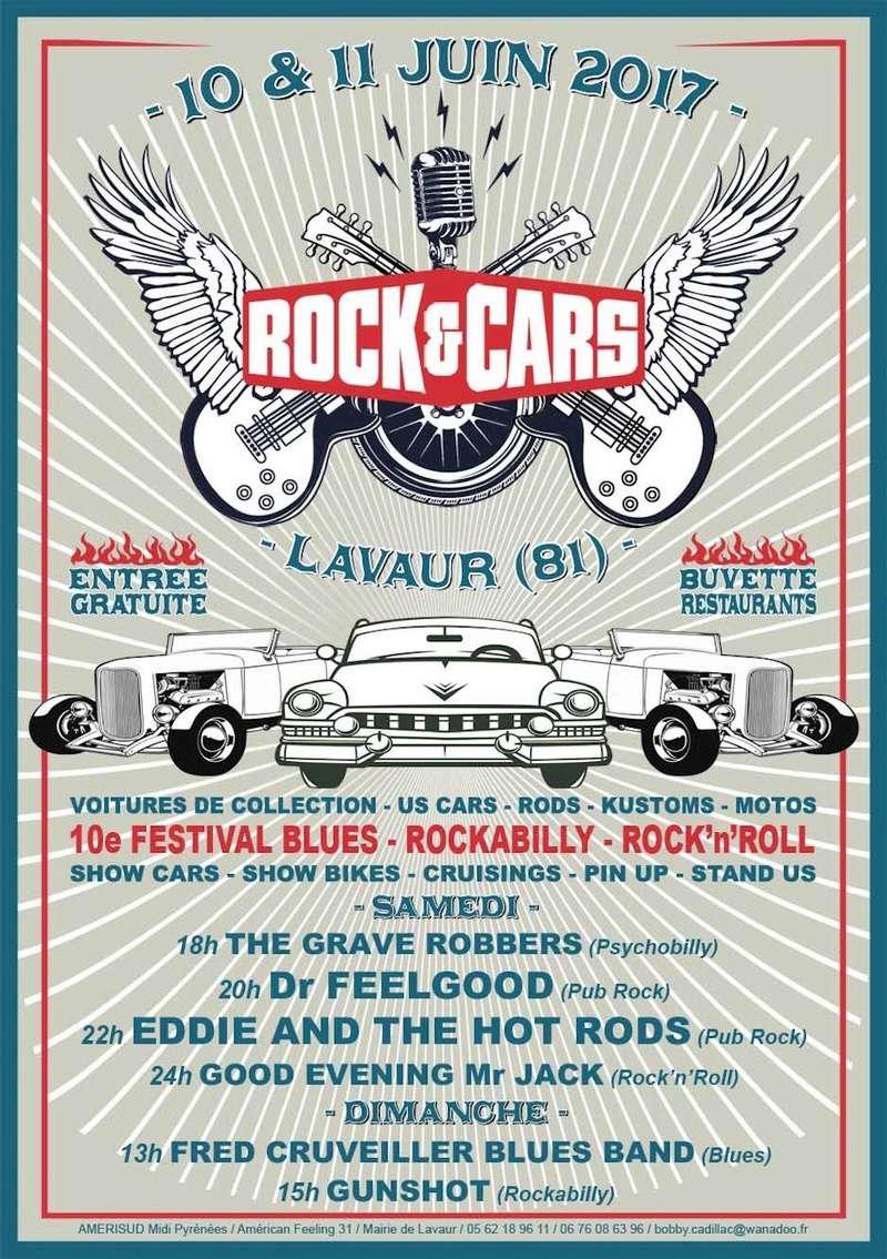Occitanie - 10ème Festival Rock&Cars de Lavaur 10 et 11 juin 2017 2017-047