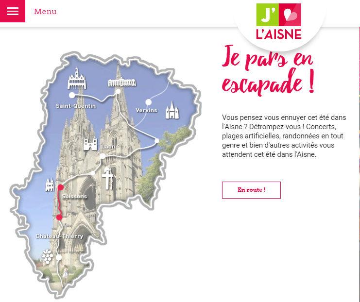 Aisne à moto : trois itinéraires pour trois jours d'étape Captud15