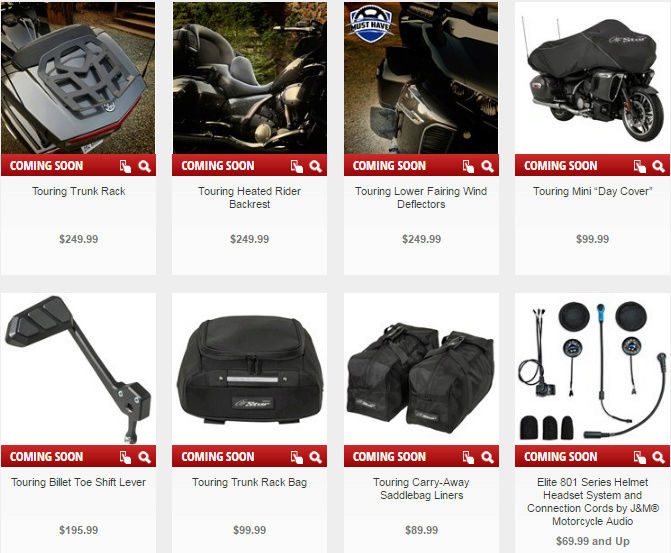 Le retour de la Yamaha Venture 1'800cc pour 2018 - La Honda Goldwing en ligne de mire Captuq12