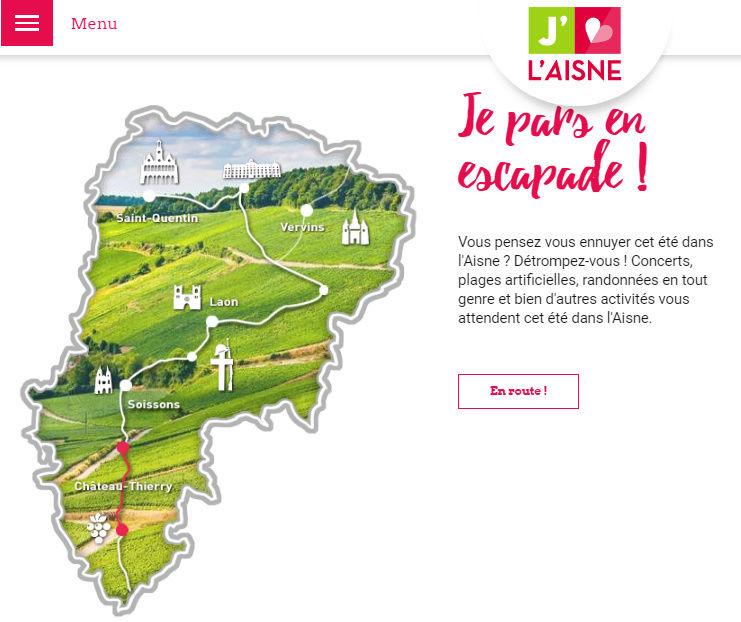 Aisne à moto : trois itinéraires pour trois jours d'étape Captux11