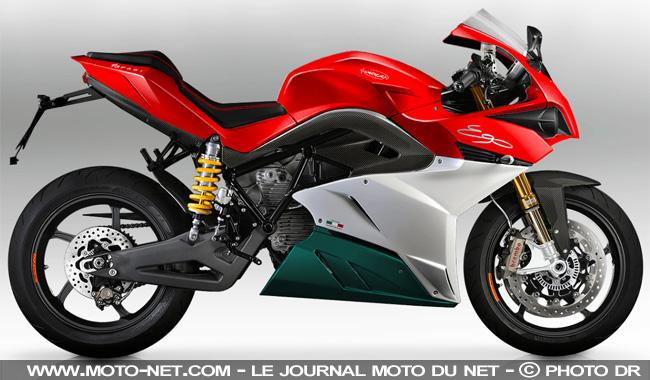 Les motos électriques Energica Ego et Eva commercialisées en France Tendan10