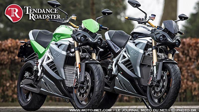 Les motos électriques Energica Ego et Eva commercialisées en France Tendan13