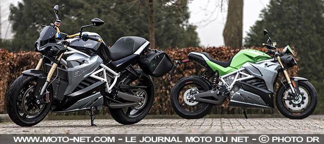 Les motos électriques Energica Ego et Eva commercialisées en France Tendan14