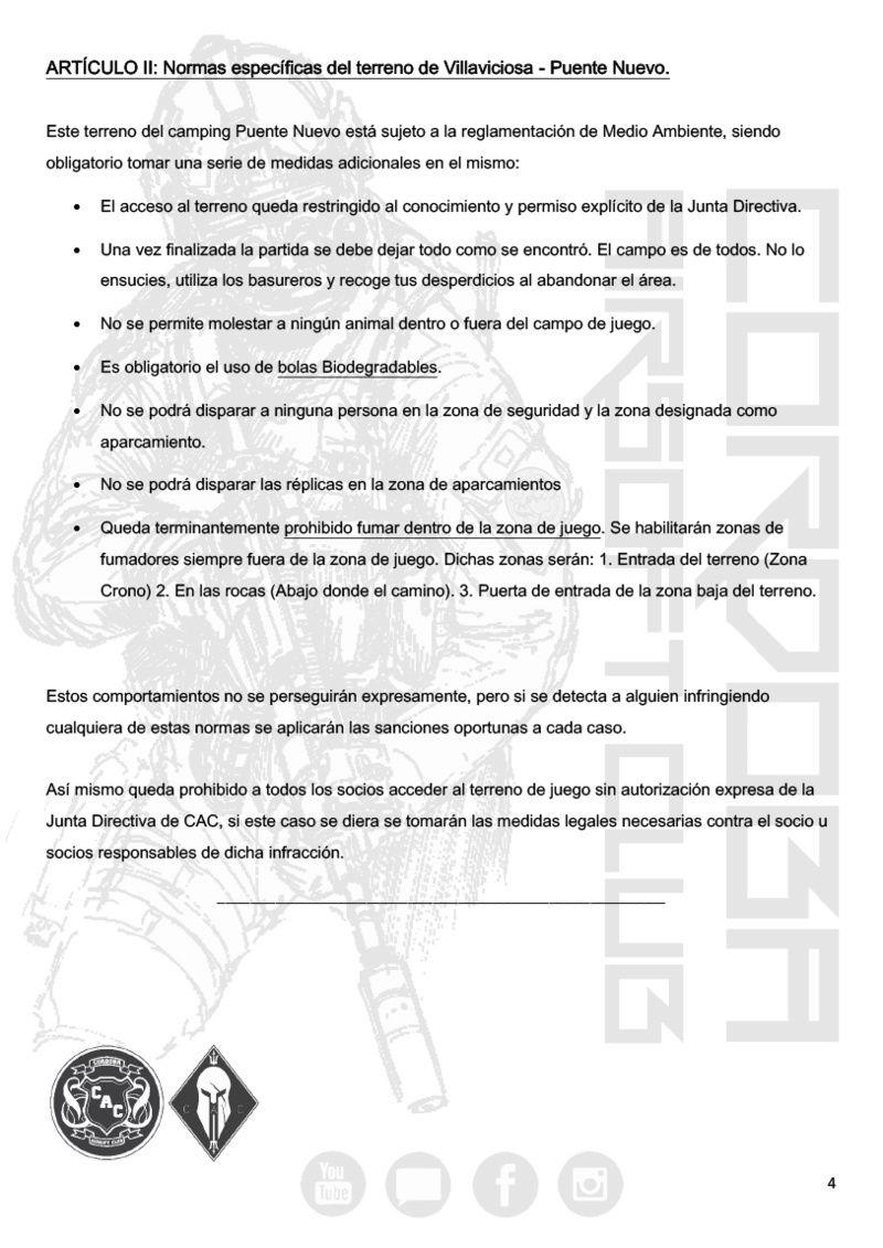 REGLAMENTO COMPLETO CAC Normat13