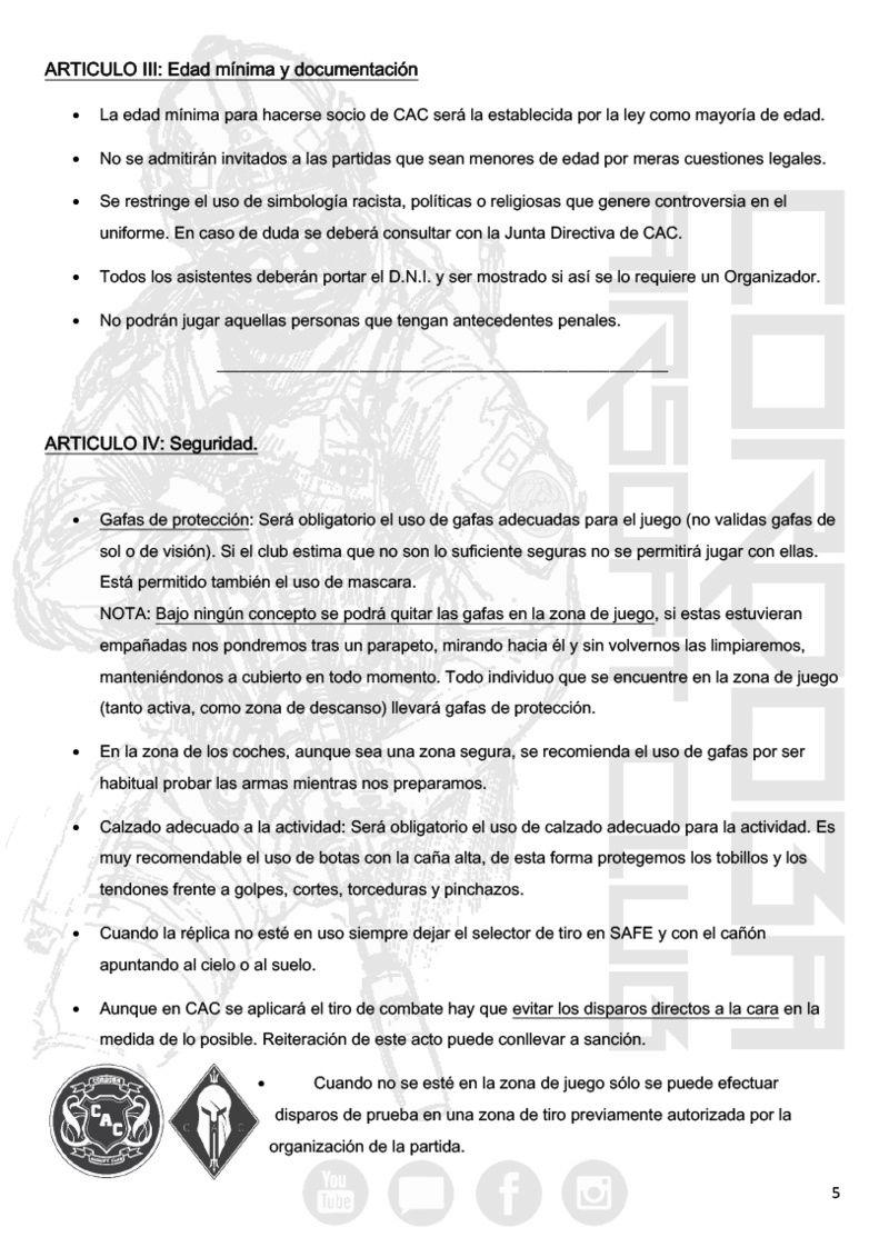 REGLAMENTO COMPLETO CAC Normat14